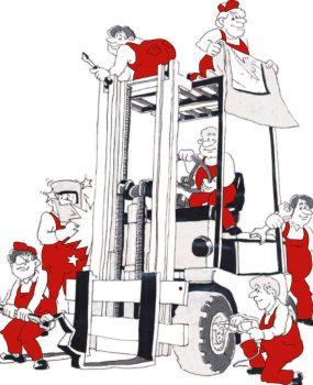 Staplerservice - viele Techniker für Sie im Einsatz